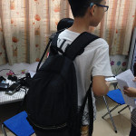 School children personal UFP exposure monitoring in Hehsan, Guangdong – April 2016