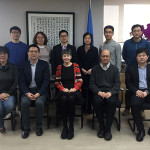 Day 2 (L to R back row: Xiaopu Lv, Lina Wang, Hao Wang, Min Cui, C Ye, Xin Wang, front row: Jinliang Zhang, Xiaopeng Jiang, Lidia Morawska, Tong Zhu, BaoXian Liu)